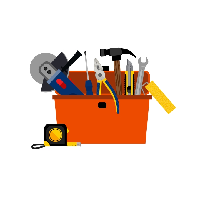 Toolbox-for-DIY-house-repair